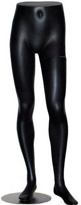 Mn-146 Black Lower Torso Male Mens Half Body Pants Mannequin Legs Form