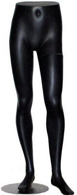 Mn-146 Black Lower Torso Male Mens Half Body Pants Mannequin Legs Form