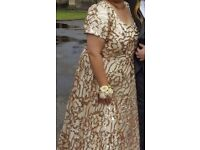 Stunning Gold Sequin Gown - Worn Once