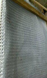 Galvanised reinforcing mesh sheets