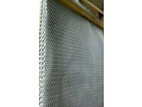 Galvanised reinforcing mesh sheets