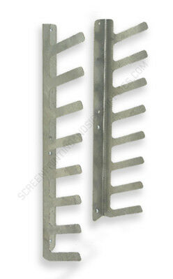 Screen Printing Squeegee Rack Holder Organizer Screenprinting Equipment