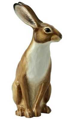 New boxed John Beswick hare ornament, JBW17 wildlife figure