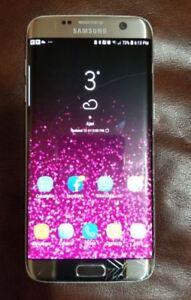 Samsung s7 Edge - cracks on screen but works like Brand New
