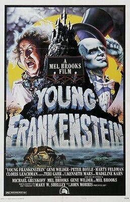 Young Frankenstein - Gene Wilder - Mel Brooks - A4 Laminated Mini Poster