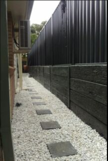 Concrete Sleepers for retainning wall N16 bars
