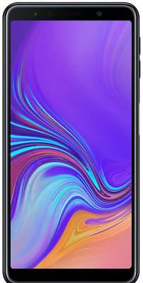 SAMSUNG GALAXY A7 2018 DUAL SIM 64GB 4G NERO ITALIA GARANZIA 24 MESI +PELLICOLA