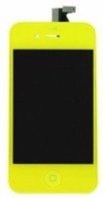 Pantalla Completa para IPHONE 4S Color Amarillo NUEVO