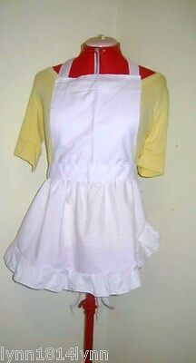 ALICE IN WONDERLAND FANCY DRESS COSTUME APRON All sizes  C store for ideas](Womens Costume Idea)