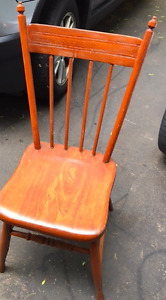 SOLID BEAUTIFUL WOODEN CHAIRS