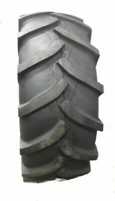 Two 7-14 Crop Master R-1 Lug Compact Tractor Tires 8ply Rated Heavy Duty