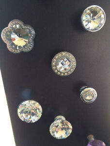 Beautiful Crystal knobs starting at $5.00 each!