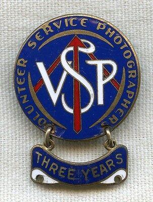 WWII Volunteer Service Photographer