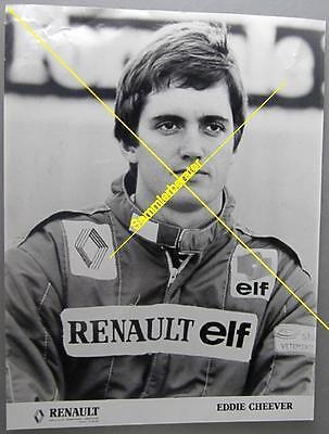 Original Foto: Eddie Cheever Renault Formel 1 (14681)