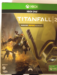 PDP Titanfall 2 Wired Marauder SRS Headset new xbox one