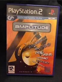 Amplitude PS2 (PlayStation 2) PAL UK