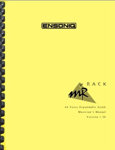Ensoniq MR Rack MUSICIAN