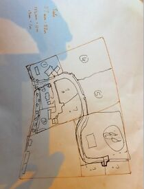 Building plot for self-build, 400 metres square for £20,000, fresh site for 1 1/2 storey house