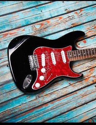 GFA Reggae Legend * LEE SCRATCH PERRY * Signed Electric Guitar ADM PROOF COA