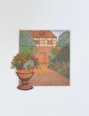 Stephen Whittle Garden Morning Poster Kunstdruck Bild 36x28cm