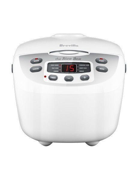 NEW Breville BRC460 Rice Box Cooker: White