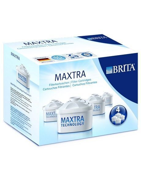 NEW Brita CM4P Maxtra Filter Cartridges - 4 Pack White