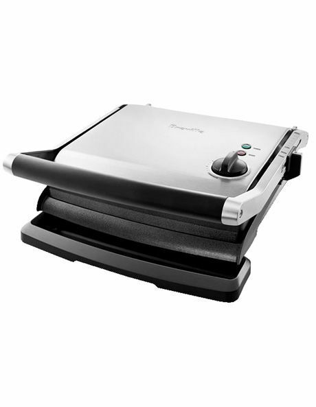 NEW Breville Contact Grill & Press BGR250 Grey