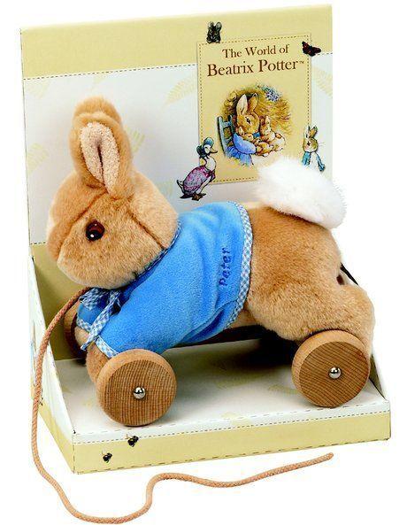 NEW Beatrix Potter Pull Along Peter Rabbit BP150163 Multicolour