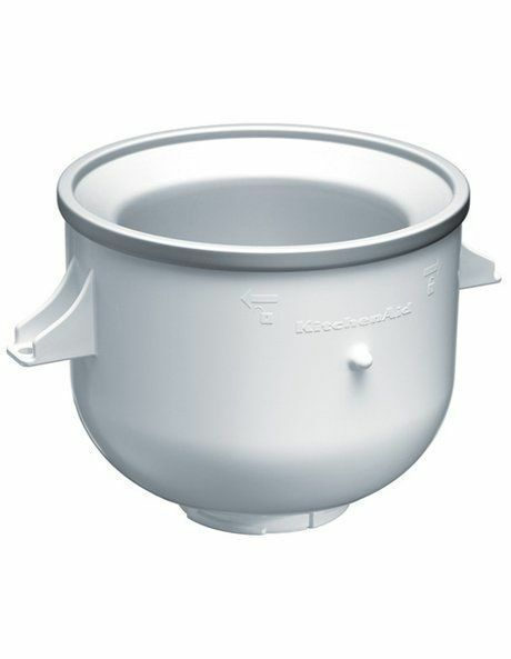 NEW KitchenAid Ice Cream Bowl Accessory 90255 White