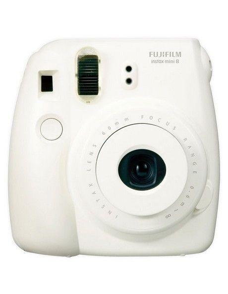 NEW Fujifilm Instax Mini 8 instant camera White
