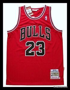 MEDIUM Hardwood Classics #23 MICHAEL JORDAN CHIGAGO BULLS NBA jersey AU STOCK