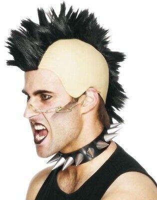 80er Jahre 1980er Punk Mohican Mohawk Kostüm Perücke & Kopfbedeckung von - Punk 1980 Kostüm
