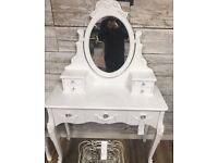 White Dressing table brand new