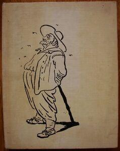 Romain-Rolland-Colas-Breugnon-Russian-Soviet-book-illustrations-by-Kibrik-1977