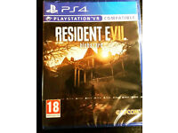 Resident Evil Biohazard for PS4 - Brand New