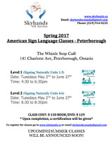 American Sign Language Classes