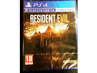 Resident Evil - biohazard for PS4 - Brand New