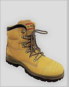 WORK BOOTS WITH SIDE ZIP BRAND NEW