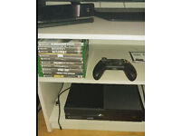 Xbox One 500Gb with and Kinect plus 10 games