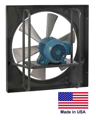 Exhaust Fan Commercial - Explosion Proof - 24 - 1 Hp - 115230v - 7425 Cfm