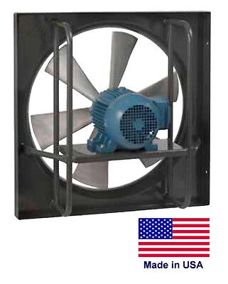 Exhaust Fan Commercial - Explosion Proof - 30 - 12 Hp - 230460v - 7500 Cfm