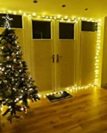 String Lights Mains Powered, 120 LED 15M/49Ft Fairy Lights Waterproof