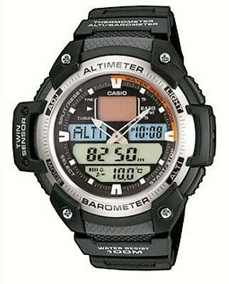 Casio SGW-400H-1B Altimetro Barometro Termometro