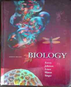 Biology by Raven 8th edition