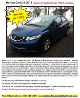 Honda Civic 2013 - remise de 1000$