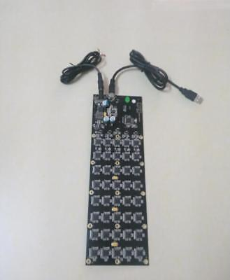Litecoin Hash Miner Gridseed G-blade Usb Asic 2.5mh Scrypt Mining Blade 1 Pcb