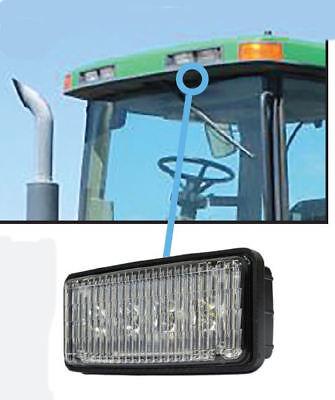 Fits John Deere 40-8010t Series Tractors Led Front Hood Light Or Upper Cab Light