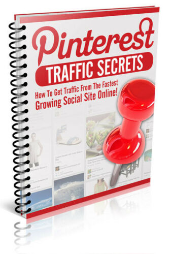 Pinterest Traffic Secrets PDF eBook with Full resale rights!