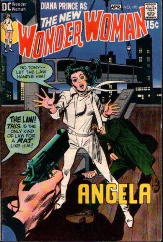 WONDER WOMAN #193 VG/F, DC Comics 1971 Stock Image