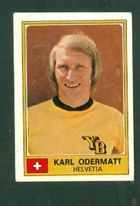 figurina euro football 1976 panini karl odermatt svizzera nuova. Black Bedroom Furniture Sets. Home Design Ideas
